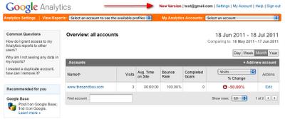 把多个AdWords帐户与Google Analytics(分析) 关联起来