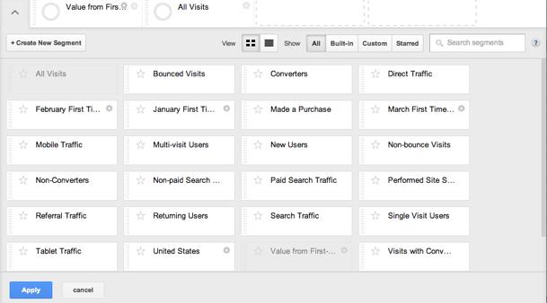 Google Analytics细分功能大升级:更强大更好用